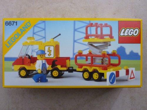 Legoland Town System Utility Repair Lift