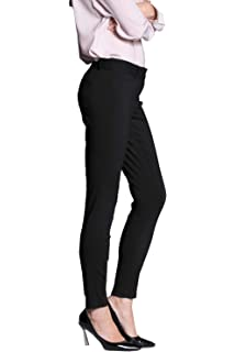 e6b305c7228ed Kidsform Womens Dress Pants Straight Leg Trousers Ease in to Comfort ...