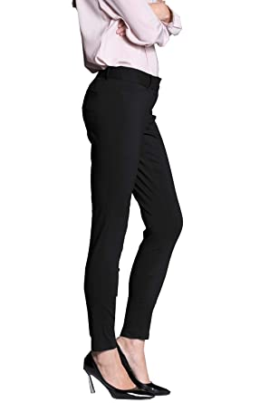 293fc6845b YTUIEKY Women's Straight-Leg Pant Stretchy Office Slimming Pants Super  Comfy Stretch