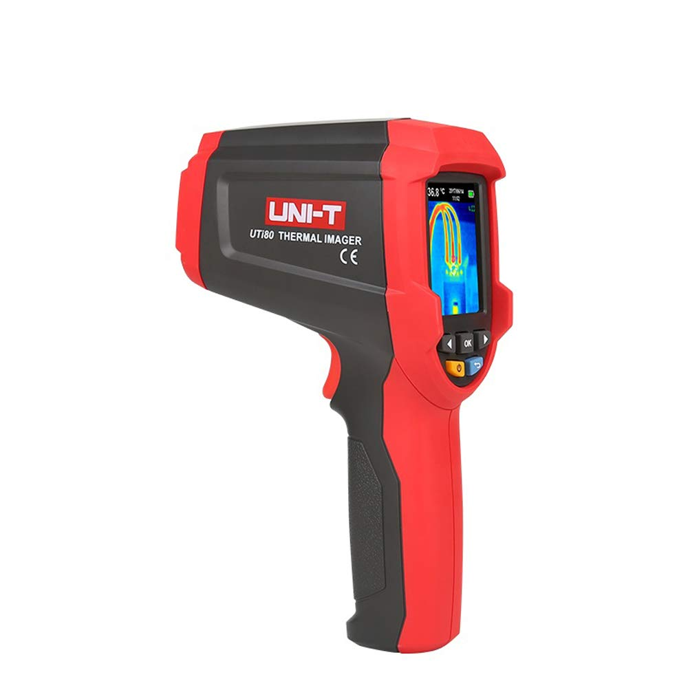 UNI-T UTi80 Thermal Imaging Camera Infrared Thermometer Imager -30C to 400C Degree 4800 Pixels High Resolution Color Screen