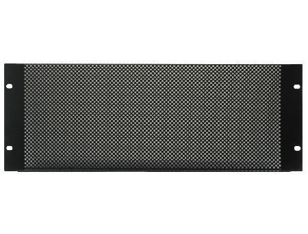 4U Black Steel Vented Rack Pabel (555 Panel)