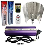 SPL Horticulture STWK 1000 Hydroponic 600W Watt Grow Light Digital Dimmable HPS MH System for Plants Gull Wing Reflector Hood Set Review
