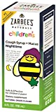 Zarbee's Naturals Children's Cough Syrup + Mucus Nighttime with Dark Honey - Grape, 4 Fl. Ounces