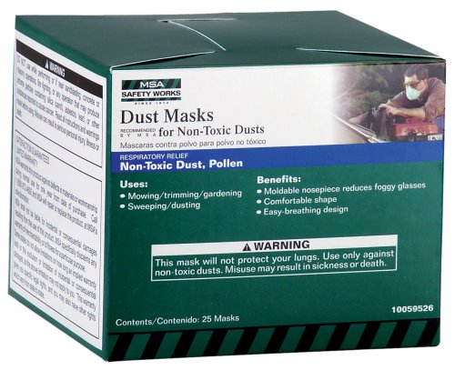Safety Works 10059526 Dust Masks For Non Toxic Dusts 25 Pack by Safety Works (Image #1)