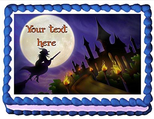Edible Cake Topper Halloween