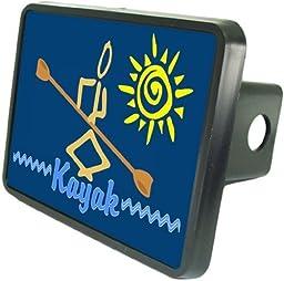 Kayaker Custom Hitch Plug for 2\