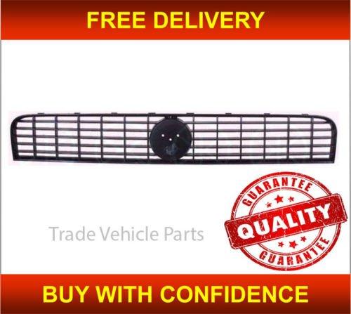 Trade Vehicle Parts FT1053 Front Top Radiator Grille Black Between Headlights