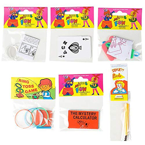 Kicko Easy Magic Fun Tricks - 12 Pack - Beginner Magician Props with Instructional Manual - Birthday Present to Kids, Family Bonding Activity, Party Favors, First Magical Show, Class Recitals from Kicko