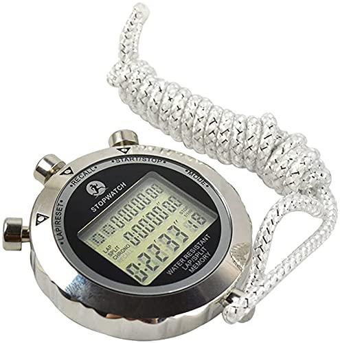 GLLP Stopwatch Timer Metalen Ronde Wijzerplaat Timer, Track En Veld Concurrentie Digitale Sport Stopwatch Timer