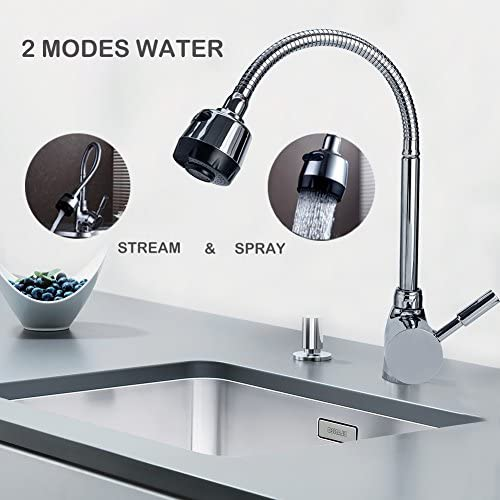 Pull Out Faucet Sprayer Head Kitchen Bathroom Sink Single Hole 55 x 90 x 21mm