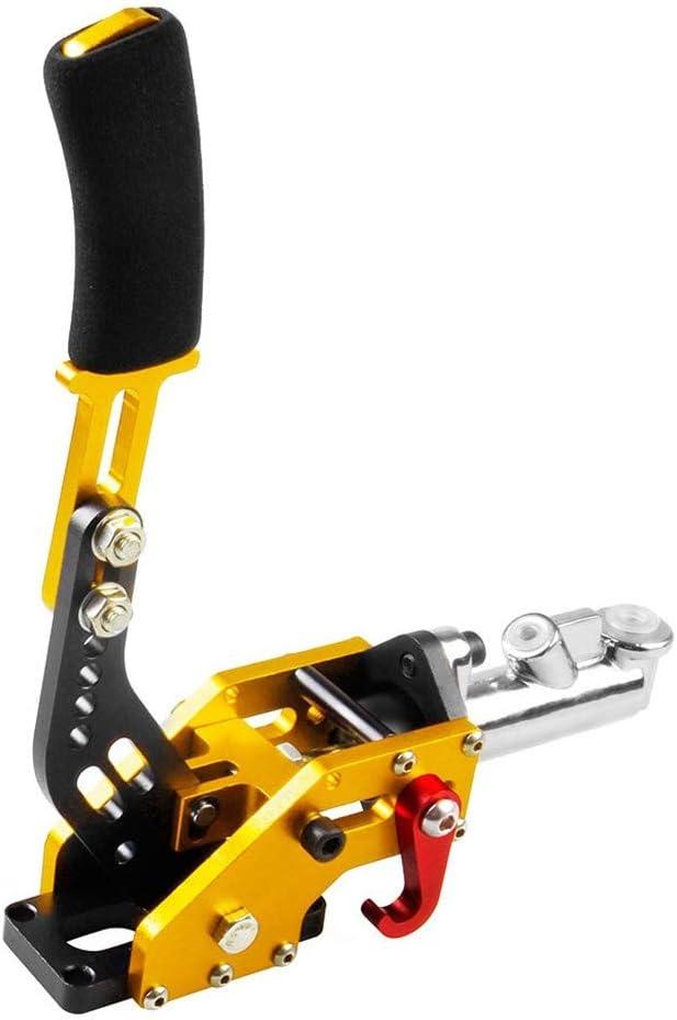 Freno De Mano Hidraulico Aluminio Cilindro E-freno De Estacionamiento Racing Mango De Palanca De Freno De Emergencia 31,5 9,8cm Oro