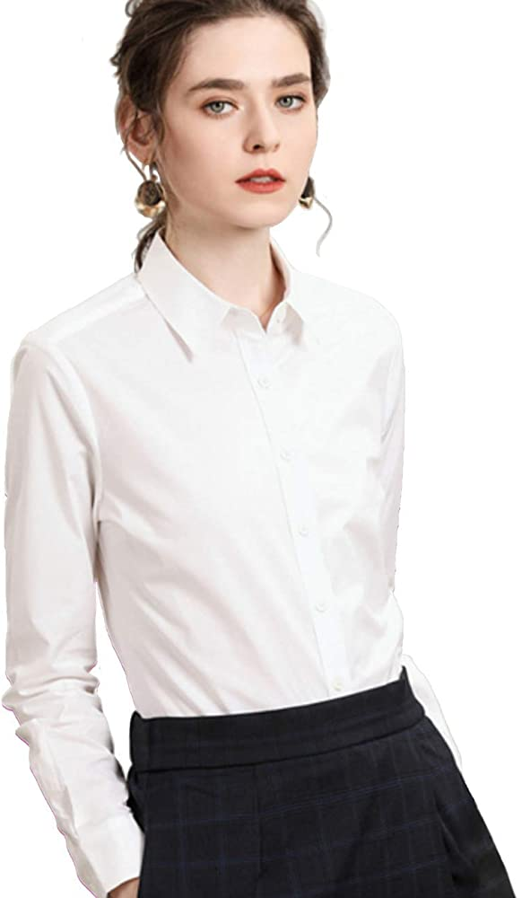 Women's Clothing Women Bell Sleeve Casual Button Down Shirt Blouse Ladies  Work Plain Top Plus Clothes, Shoes & Accessories bibliotecaep.mil.pe