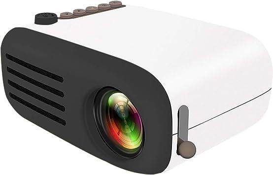 Proyector Cine en Casa,YG200 LED Mini Video Proyector Portatil ...