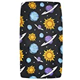 Outer Space Changing Pad Cover by Jaxson's World (Planets)