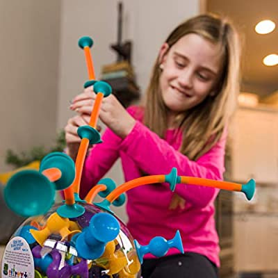 Fat Brain Toys Squigz Toobz: Toys & Games