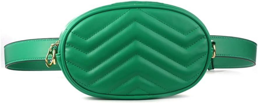 Mini Ovalen Gürteltasche Damen Hüfttasche Mini Bauchtasche Geldbörse Handtasche