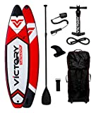 Victory Navigator 10´6'' Inflatable Stand Up Paddleboard Set - 6'' Thick - Full package - 2 Year Warranty
