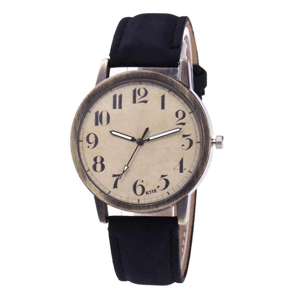 Toponly Women Watches Leather Band Luxury Quartz Watches Girls Ladies Wristwatch Gift