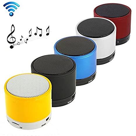 Higadget Mini Bluetooth Wireless Speaker For Ios/ Android/ Ipad Air2 Mini2 Mini3/ Ipad 4Th Gen/ Ipod, Multi Color