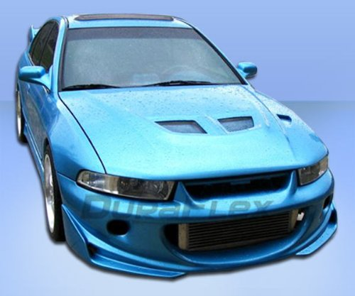 Duraflex Replacement for 1999-2003 Mitsubishi Galant Cyber 2 Front Bumper Cover - 1 Piece ()