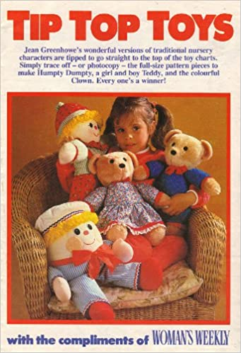 Tip Top Toys Jean Greenhowe\'s Traditional Nursery Characters Toy ...