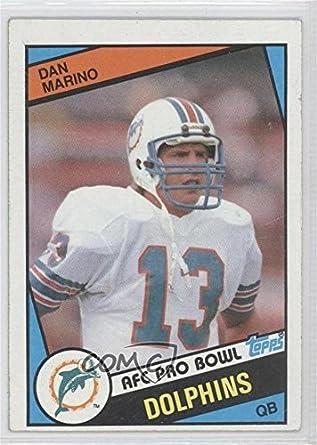 d58d4abf2 Amazon.com  Dan Marino (Football Card) 1984 Topps -  Base   123   Collectibles   Fine Art