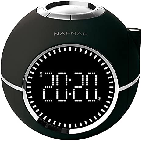 Naf Naf CLOCKINE - Radio despertador (FM digital, alarma dual ...