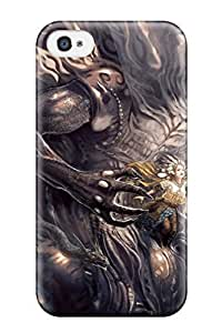 High Quality Witch Sorceress Fantasy Dragon Bleach Abstract Fantasy Case For Iphone 4/4s / Perfect Case