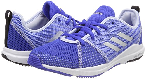 Chaussures aero Cloudfoam silver Blue Arianna hi Bleu Metallic Femme res Adidas Blue De Fitness FZEx7