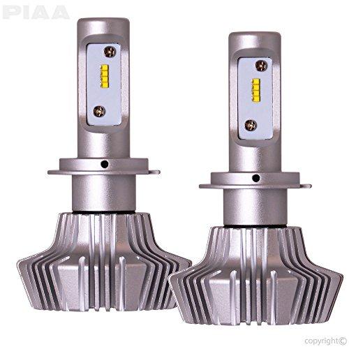 PIAA 26-17307 H7 Platinum LED Bulb Kit-4000Lm, White 6000K, 25W-2 Yr Warranty ()
