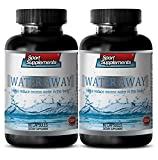 immune support booster - WATER AWAY PILLS - HELP REDUCE EXCESS WATER - blood pressure naturally - 2 Bottles (120 Capsules)