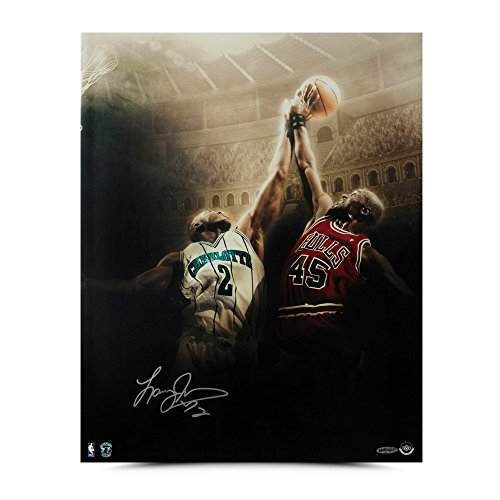 (LARRY JOHNSON Autographed