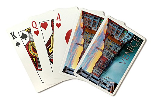 Venice, Italy - Canal View (Playing Card Deck - 52 Card Poker Size with Jokers) by Lantern Press