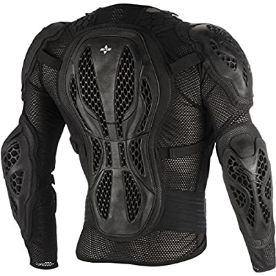 Alpinestars Men's Bionic Action Motorcycle Protection Jacket, Black/Red, 2X-Large: Automotive