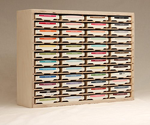 48 Ink Pad Holder by Stamp-n-Storage