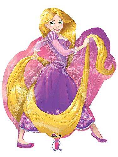 [Disney Princess Rapunzel Supershape Foil Balloon 78Cm] (Storybook Fairytale Costumes)
