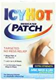 Icy Hot Extra Strength Medicated Patch, Small, 5-Count Box (Pack of 3) Temporarily Relieves Minor Pain Associated with Arthritis, Simple Backache, Muscle Strains, Sprains, Bruises, and Cramps