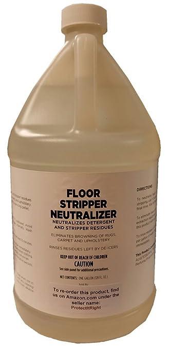 Amazoncom Floor Stripper Neutralizer For Maintenance Of Hard And - Floor stripping neutralizer