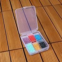 6 Grids Diamond Painting Storage Container, Beads Organizer Storage Container Case