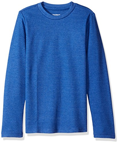 Limited Top Too Shirt - Limited Too Girls' Big Long Sleeve Thermal Top, Heather Blue 14/16
