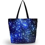 Newplenty Ladies Zippered Light Shoulder Shopping Tote Bag Handbag Beach Satchel (SB-2368)
