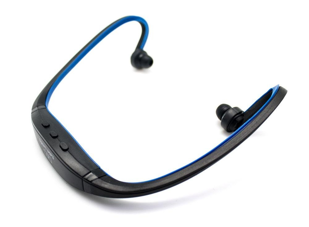 Biwond - Auricular Diadema Sport mp3+Radio FM Azul: Amazon.es ...
