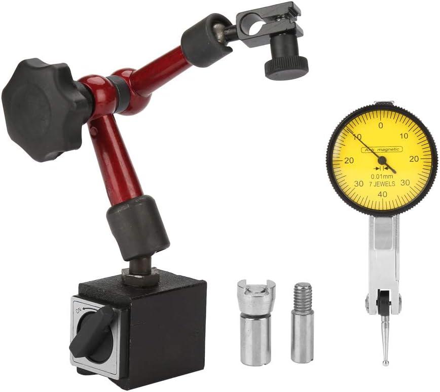 Soporte magnético flexible y fuerte para manómetro/indicador de prueba de manófer/indicador de calibre de la esfera