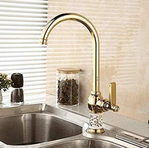 ShiSyan 立体水栓 万能水栓 クロームブラスの蛇口タップキッチン蛇口、ホットと冷たい料理、蛇口、蛇口、蛇口と。 混合水栓