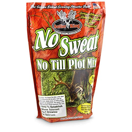 Antler King No Sweat No Till Plot Mix (Easy To Grow Food Plots For Deer)