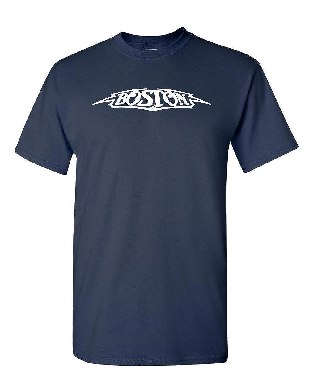 b0ae5134 Amazon.com: Boston T-Shirt - Classic Rock Band: Clothing