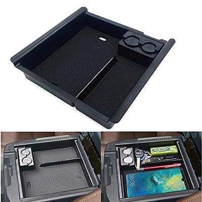 JOJOMARK for 2020 Toyota Tacoma Accessories Center Console Organizer Tray Armrest Box Secondary Storage Fit 2020 2020 2020 2020 2016 Tacoma: Automotive