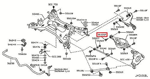 2007 infiniti g35 suspension diagram electrical wiring diagrams 2004 g35 radio fuses diagram amazon com infiniti genuine axle rear suspension bolt 55226 aq50a 2003 infiniti g35 suspension 2007 infiniti g35 suspension diagram