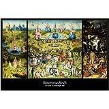 Hieronymus Bosch - Il Giardino Delle Delizie, 1500 Poster Stampa (91 x 61cm)