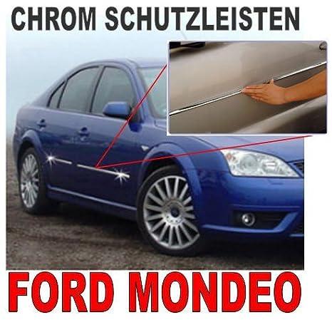 Mondeo Y Cromo, listones F. puertas accesorios Tuning: Amazon.es: Coche y moto